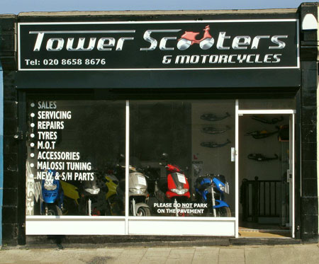 Tower Scooters, 64 Beckenham Road, Beckenham, London, Kent, BR3 4LS, England